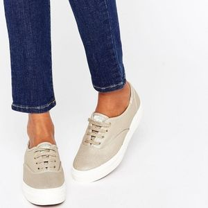 Keds Triple Metallic Linen Sneaker TlfOIc